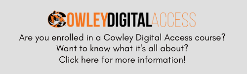 Cowley Digital Access catalog