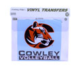 Decal Cowley Volleyball 5X5