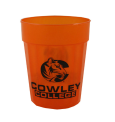 "Cup 22 Oz Orange ""C"" Cowley College"
