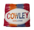 BLANKET CIRCLE COWLEY COLLEGE TROPICAL  54x84in