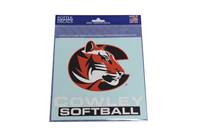 Decal Cowley Softball 6.5X6.4