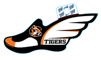 Sticker B84 C Tigers Track/Field