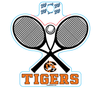 Sticker B84 C Tiger Tennis