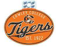 Sticker B84 Cowley College C Tigers Est 1922