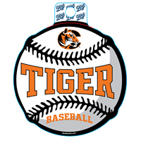 Sticker B84 C Tiger Baseball