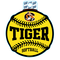 Sticker B84 C Tiger Softball