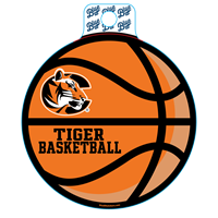 Sticker B84 C Tiger Basketball