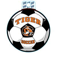 Sticker B84 C Tiger Soccer