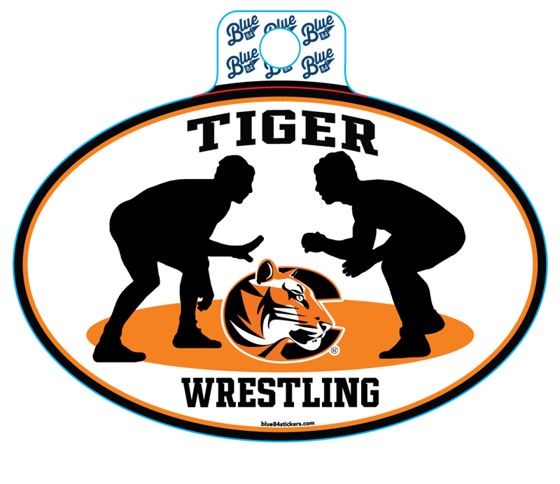 Sticker B84 C Tiger Wrestling (SKU 1008210237)