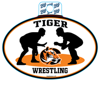Sticker B84 C Tiger Wrestling