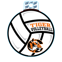 Sticker B84 C Tiger Volleyball