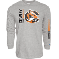 B84 Tshirt Long Sleeve 2Loc Cowley Tigers C Cowley
