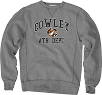 Blue 84 Crew Sanded Cowley C Athletic Dept