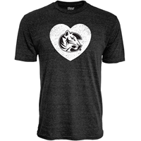 Blue 84 Tshirt Heart C District