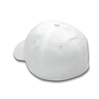 THE GAME HAT C TONE ON TONE WHITE