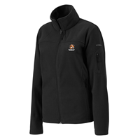 "Columbia Jacket Women Givgo Fleece ""C"" Cowley College Black"