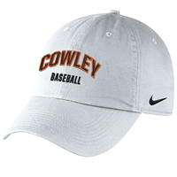 Nike Hat Cowley Baseball White