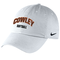 Nike Hat Cowley Softball White