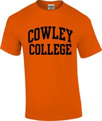 TRT TSHIRT COWLEY COLLEGE