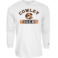 BLUE 84 LONG SLEEVE TSHIRT COWLEY C TIGERS OMBRE