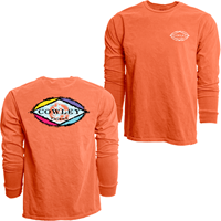Blue 84 Long Sleeve Ringspun 2 Location Diamond Cowley Tigers