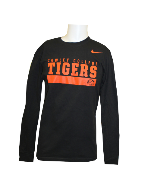 Nike Tshirt Long Sleeve  Cowley College Tiger