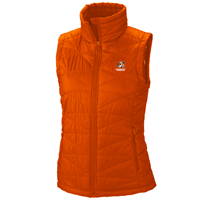"Columbia Vest Women Mighty ""C"" Cowley College Orange"